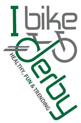 I Bike Derby Logo